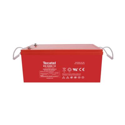Batería de GEL Tecatel 230Ah C100 12V