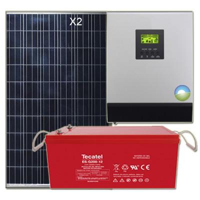 Kit Solar 1500W Uso Diario