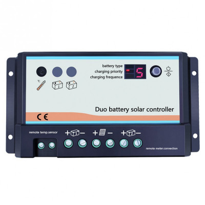 Regulador Solar Dual RS 20A, 12/24V