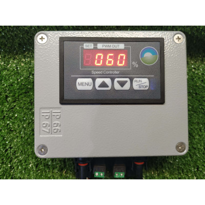Controladora RS PWM digital para bombeo solar