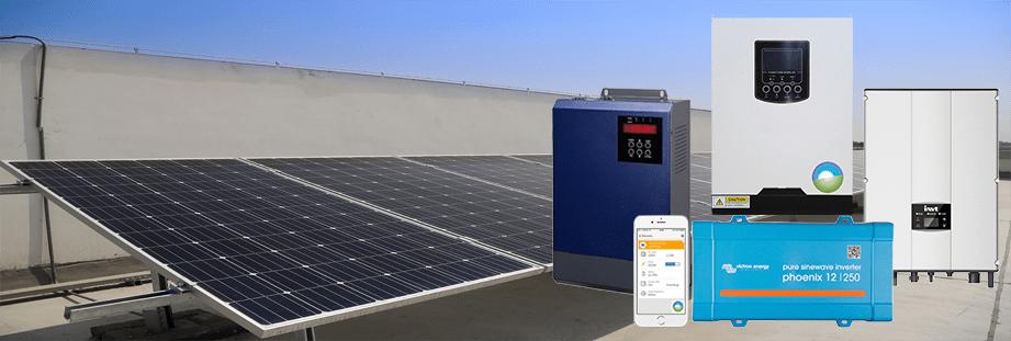 Inversores de Paneles Solares - Inversores Fotovoltaicos | Renovables del Sur
