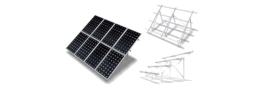 Estructuras Inclinadas - Estructuras - Ahorro de Energía | Tu Empresa (Sevilla)