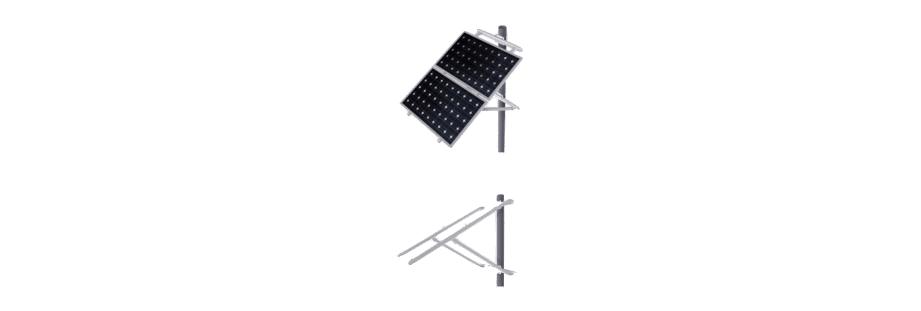 Estructuras Sobre Poste - Placas Solares | Tu Empresa de Renovables (Sevilla)