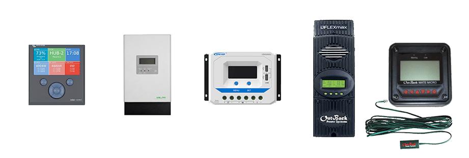 Reguladores Solares | Regulador PWM, Regulador Solar MPPT y Accesorios de Reguladores