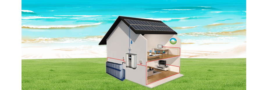 Conexión Aislada de Baterías - Energía Luz del Sol |Renovables del Sur