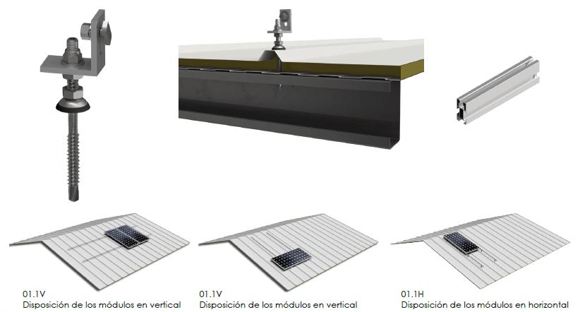 Estructura Sunfer 01.1V - Renovables del Sur