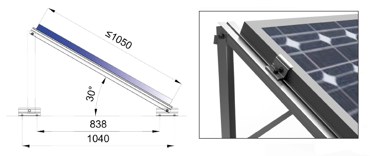 Estructura Sunfer 22H - Renovables del Sur