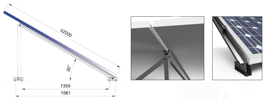 Estructura Sunfer 22V - Renovables del Sur