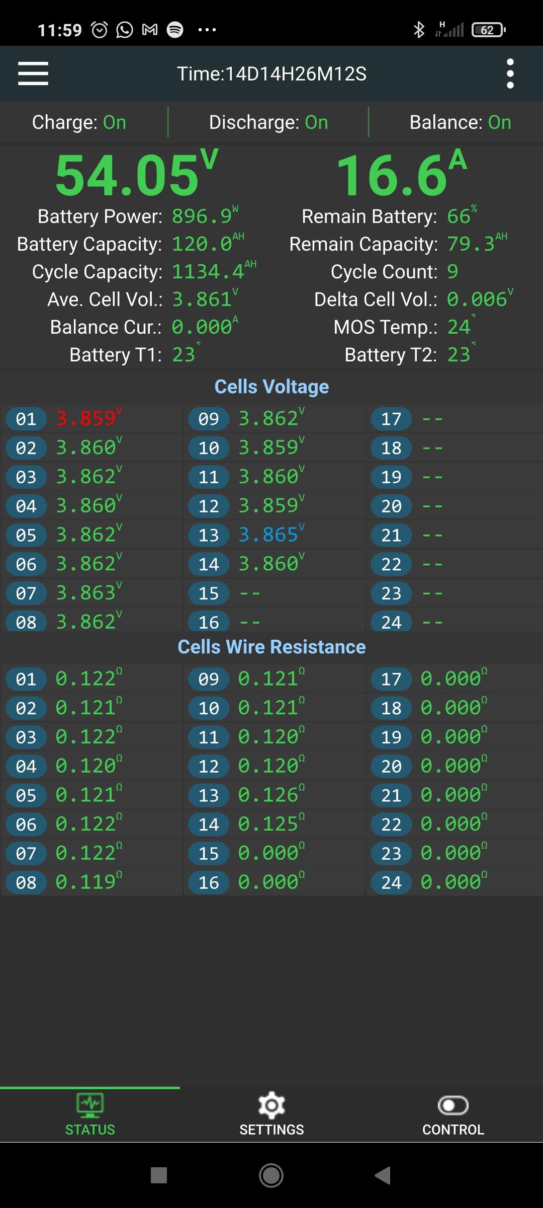 BMS Easy Battery