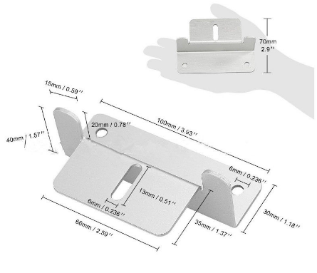 Soporte RS panel Solar