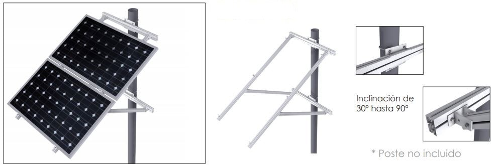 Estructura Sunfer 17H - Renovables del Sur