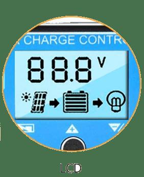 Pantalla regulador solar rs