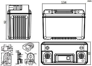 Poweroad PLFP-14BR medidas