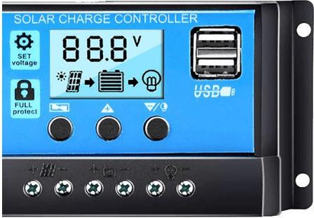 Regulador solar rs